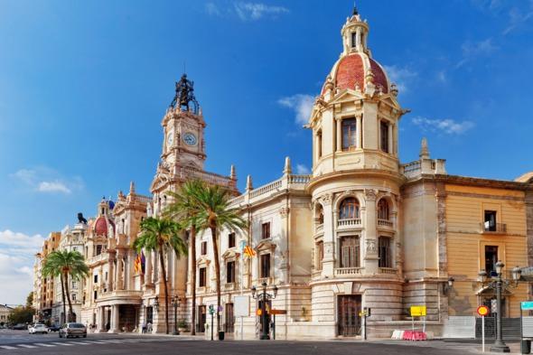 Architecture in Valencia, Spain
