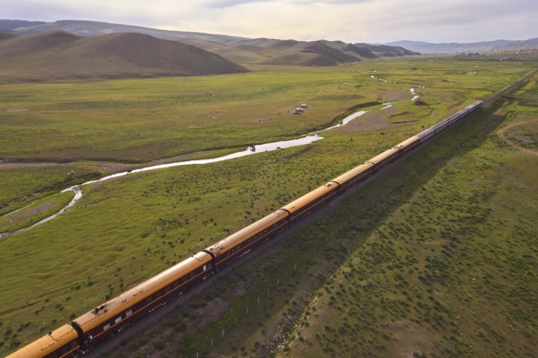 Luxury rail and cruise holidays - Tsar's Gold train in Mongolia