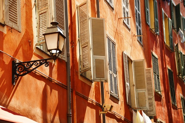 Nice old town, France