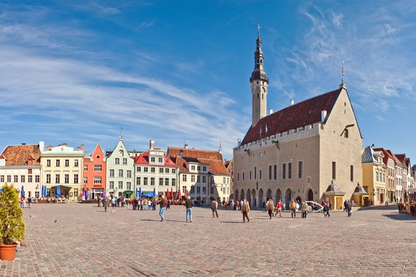 Tallinn, a highlight of Susan's Baltic cruise on Crystal Symphony