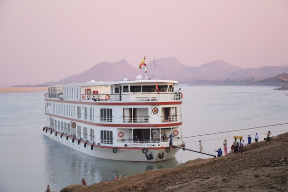 Belmond Orcaella - Myanmar river cruise