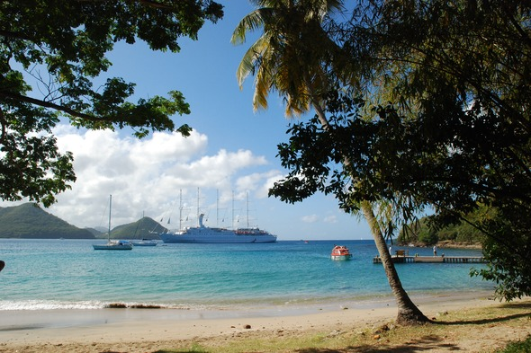 Windstar Cruises - Wind Surf in the Caribbean