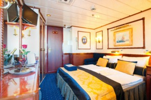 Cabin on board Star Clipper