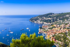 Aerial view of Nice, France