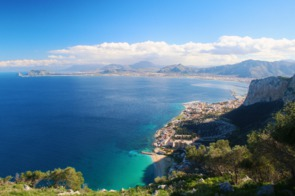Aerial view of Palermo, Sicily