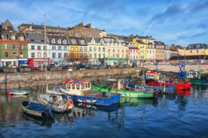 Cobh harbour, Ireland