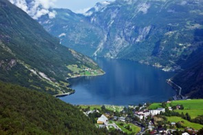 View of Geirangerfjord, Norway