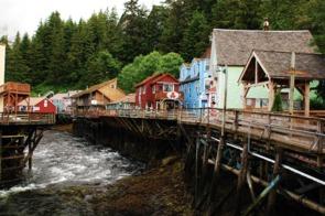 Creek Street, Ketchikan, Alaska