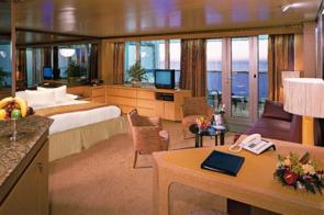 Holland America Line cruises - MS Amsterdam Deluxe Verandah Suite