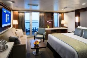 Holland America Line cruises - MS Eurodam Signature Suite