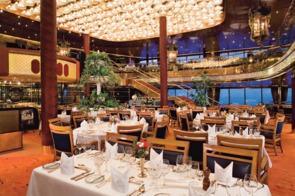 Holland America Line cruises - MS Maasdam dining room
