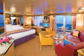 Holland America Line cruises - MS Noordam Neptune Suite