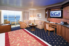 Holland America Line cruises - MS Prinsendam Superior Verandah Suite