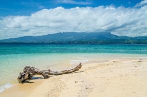 Desert island off the coast of Lautoka, Fiji