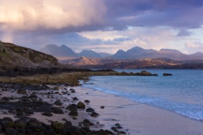 Sandy beach near Gairloch, Scotland