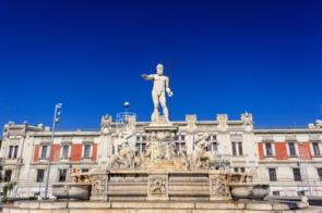 Neptune's fountain, Messina, Sicily