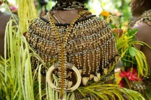 Traditional costume in Tufi, Papua New Guinea