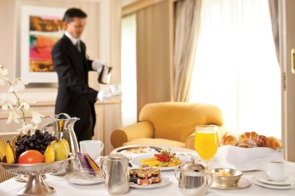 Silver Wind - In-suite dining