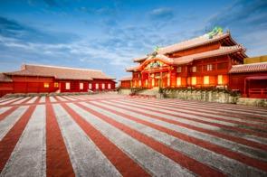 Shuri Castle in Naha, Okinawa