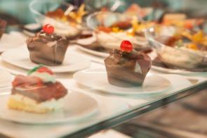 Desserts on Scenic Azure