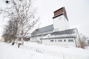Churck in Kirkenes, Norway