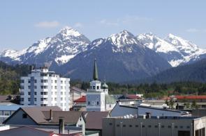Russian church in Sitka, Alaska