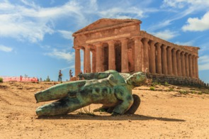 Valley of the Temples near Agrigento, Sicily