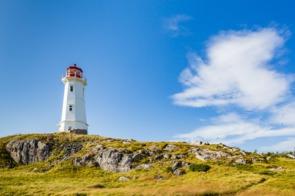 Lighthouse near Sydney, Cape Breton
