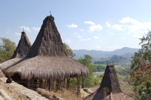 Traditional houses in Sumba, Indonesia