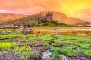 Eilean Donan castle near Kyle of Lochalsh, Scotland