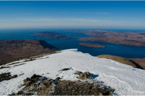 View of Ulva, Scotland from Ben More
