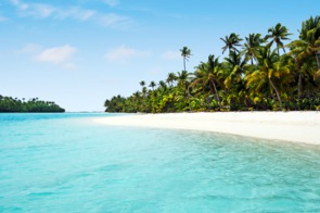 One Foot Island, Aitutaki lagoon, Cook Islands
