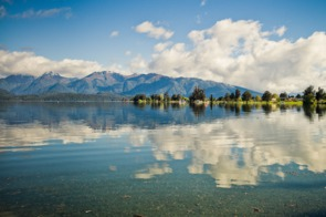Lake Te Anau, Fiordland National Park, New Zealand