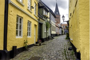 Aalborg old town, Denmark