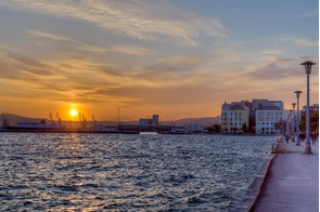 Volos harbour, Greece