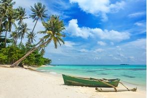 Beach on Karimunjawa Island, Indonesia
