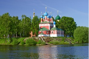 Church of St Dmity on the Blood in Uglich, Russia