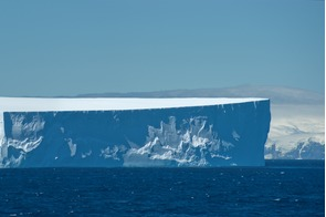 Iceberg off the South Orkney Islands, Antarctica