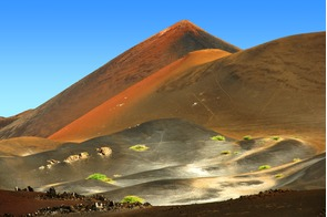 Volcano on Ascension Island