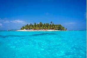 Johnny Cay island near San Andrés, Colombia