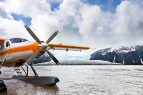 Seaplane in Juneau, Alaska