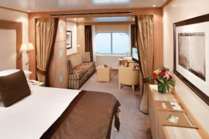 Seabourn Ocean View Suite