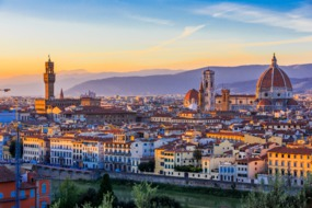 Western Mediterranean cruises - Florence skyline