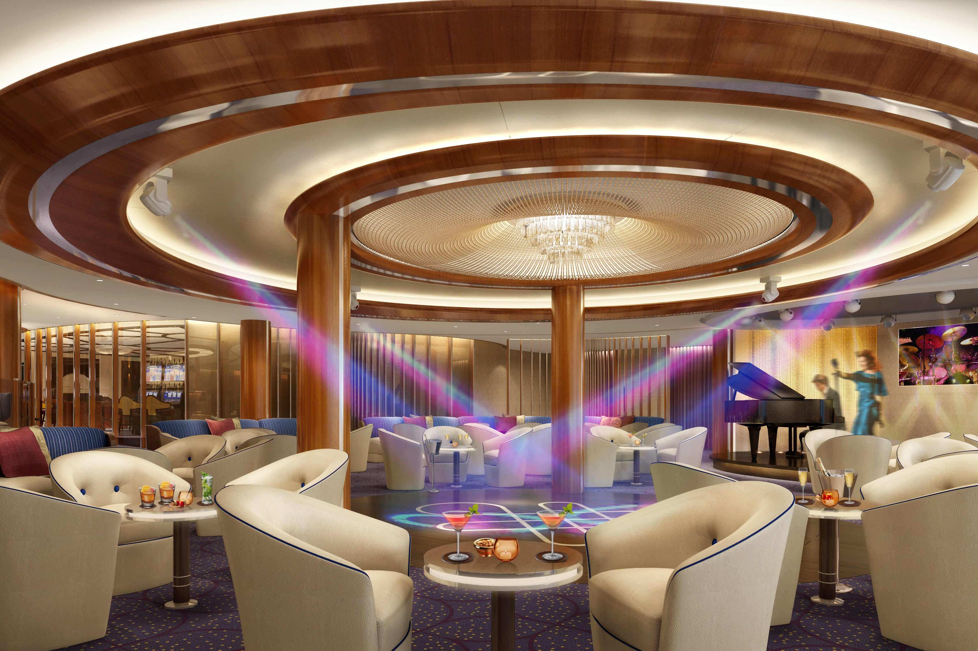 Encore Rendering Club Lounge