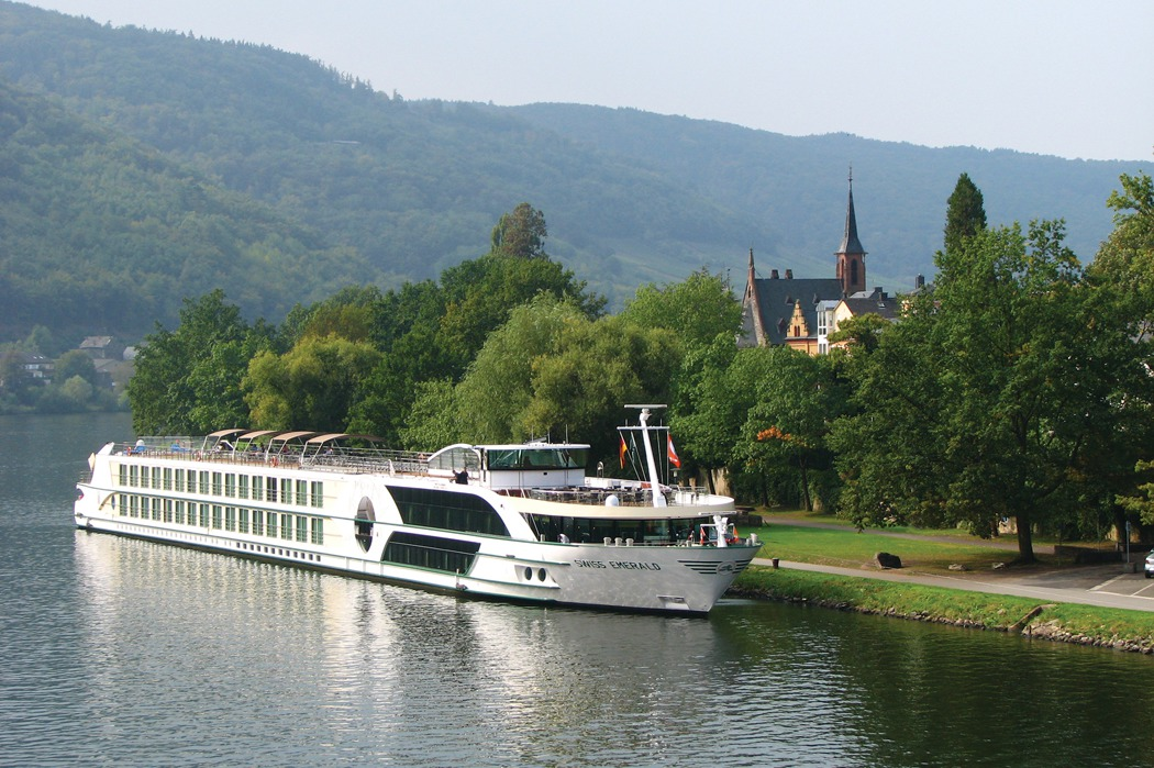 Tauck - Swiss Emerald docked in Bernkastel