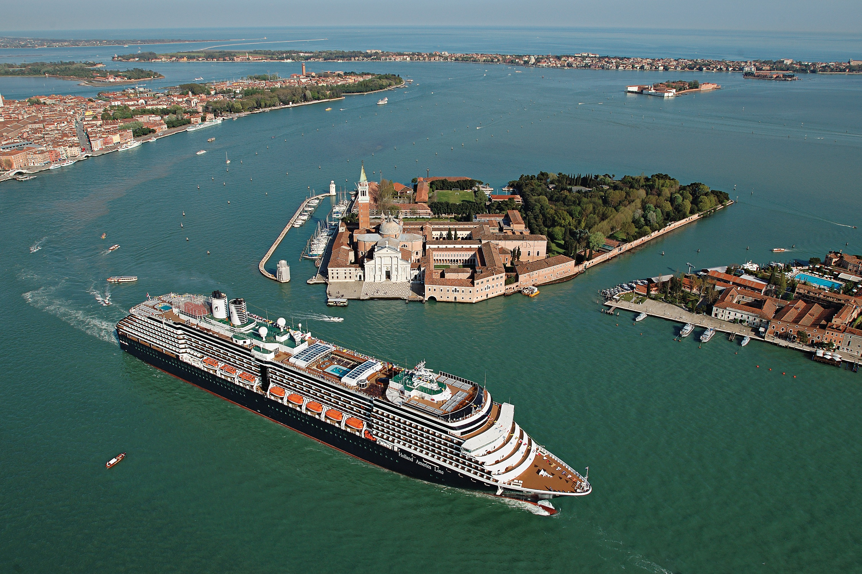 Holland America Line cruises - MS Westerdam in Venice