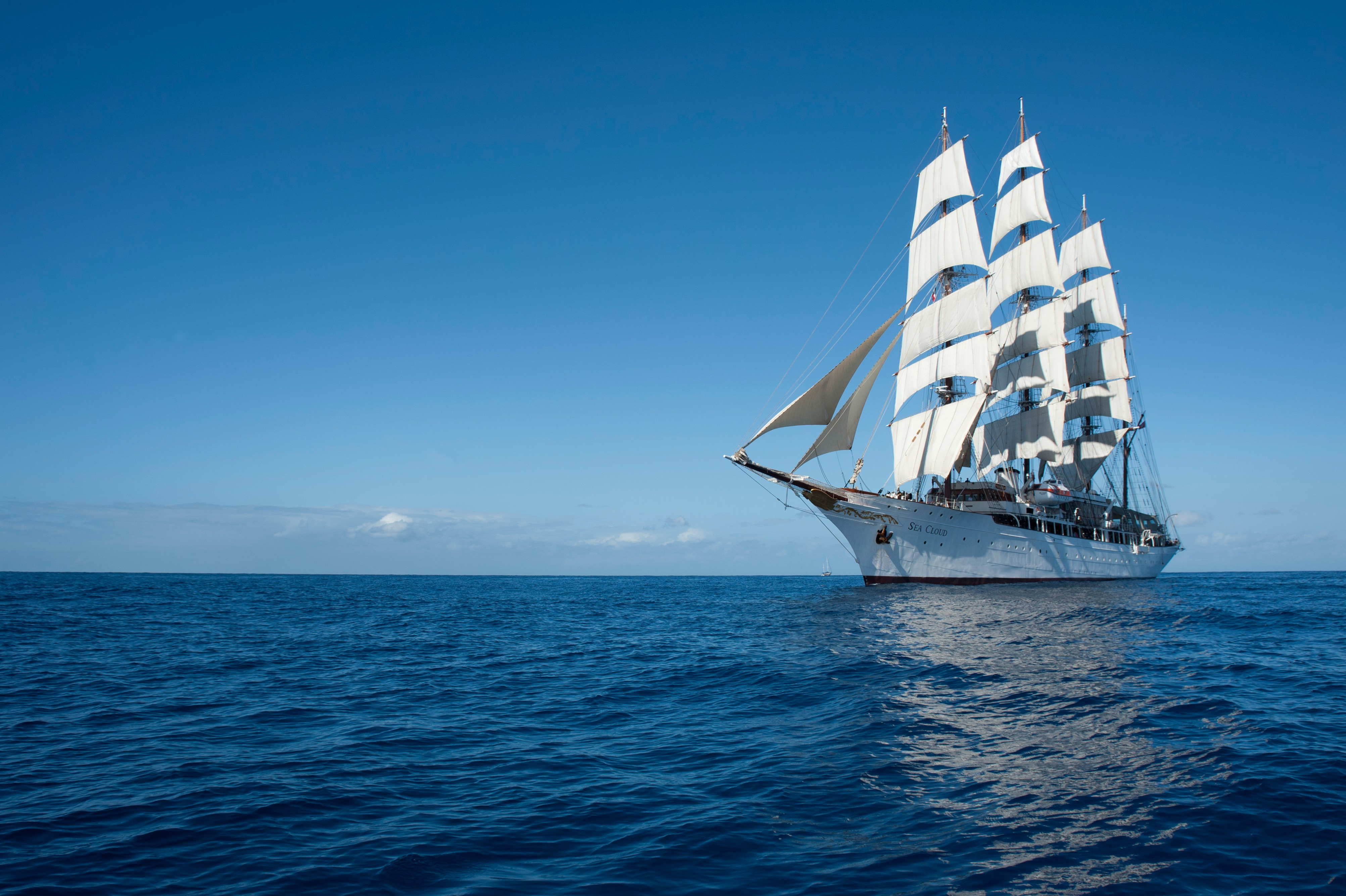 Sea Cloud at Sea