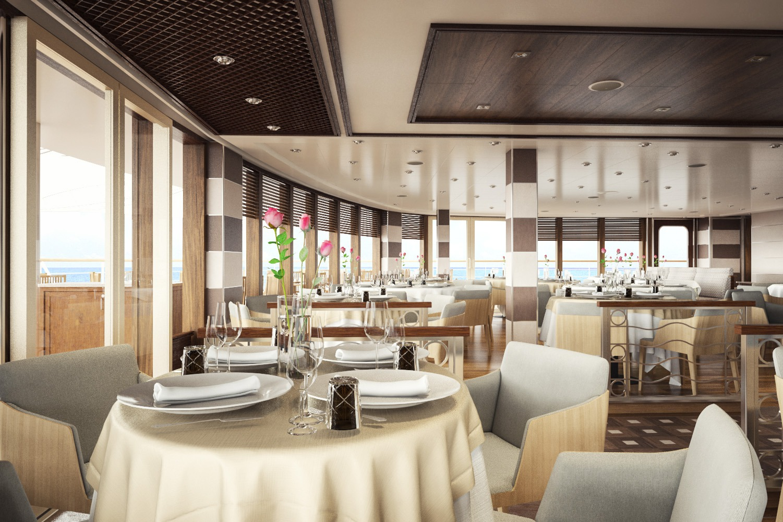 Silver Muse - La Terrazza restaurant