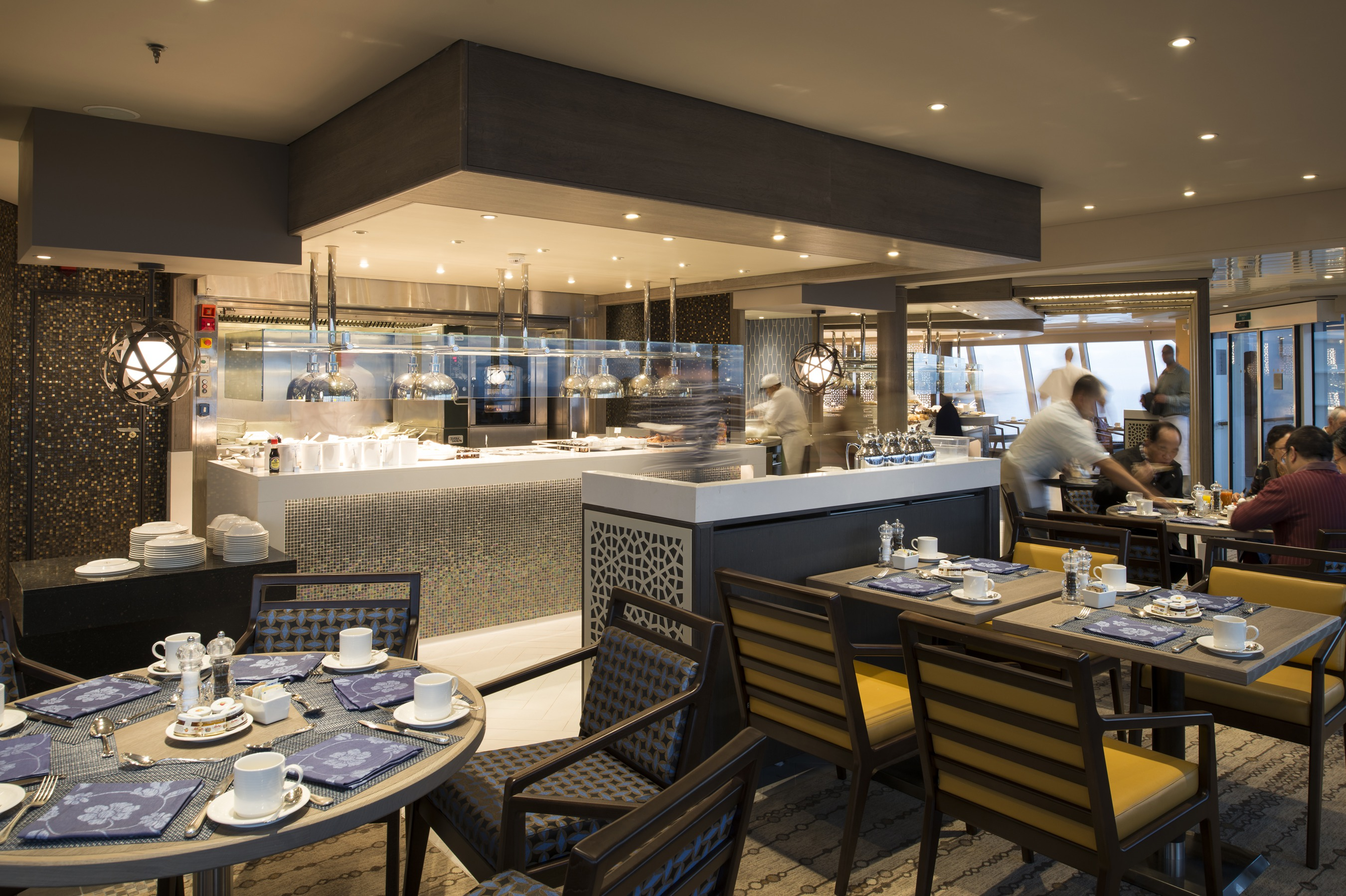 Crystal Cruises - Crystal Serenity Lido Cafe