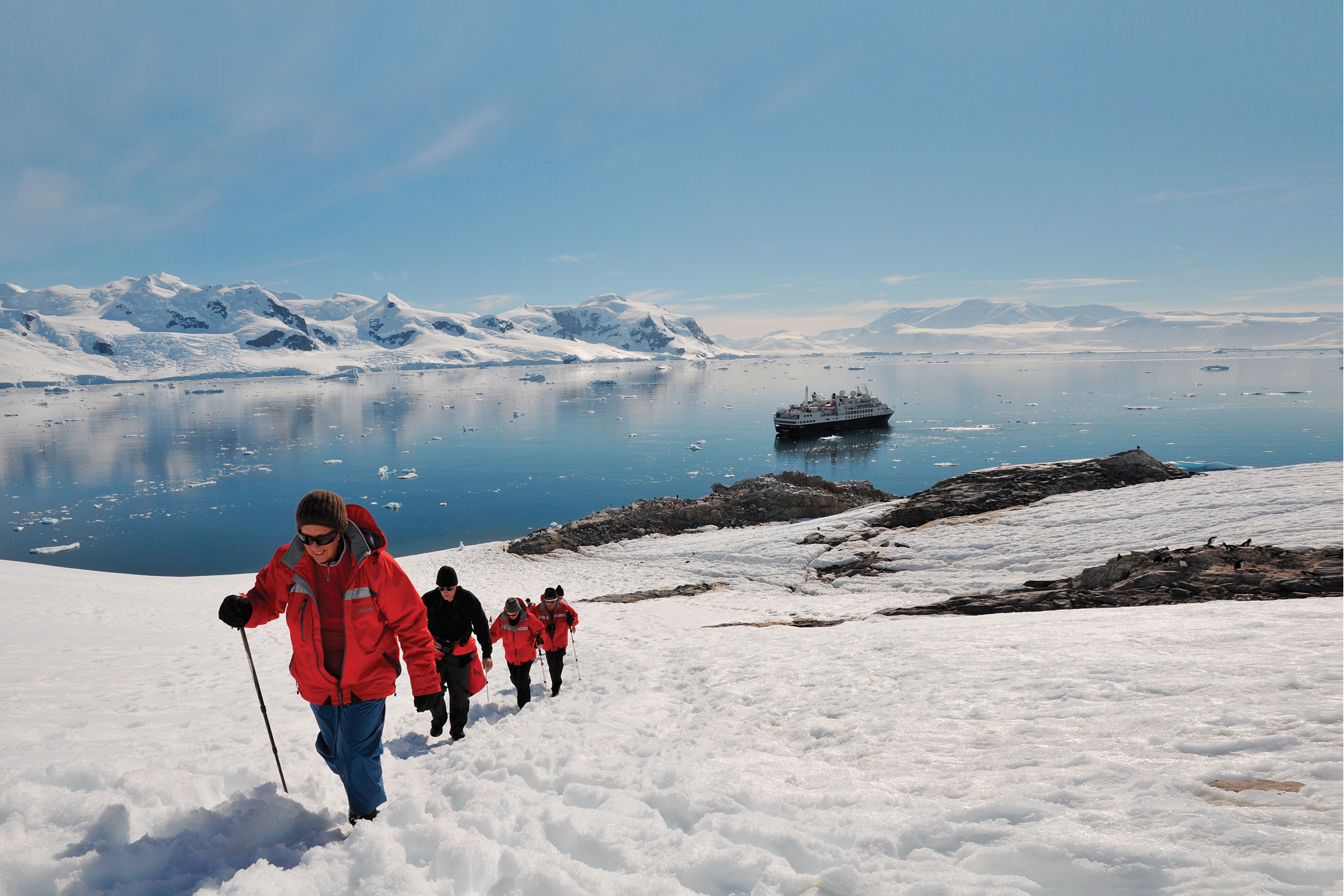 Silver Explorer - Going ashore in Antarctica